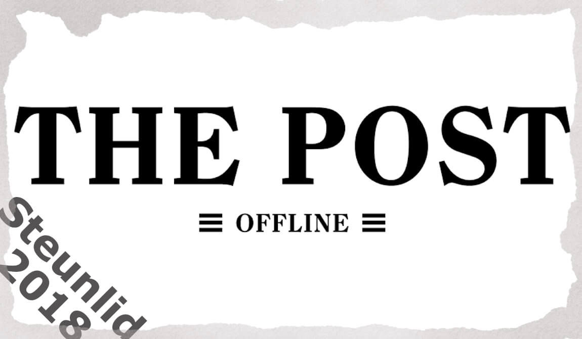 Steunlidmaatschap The Post Offline