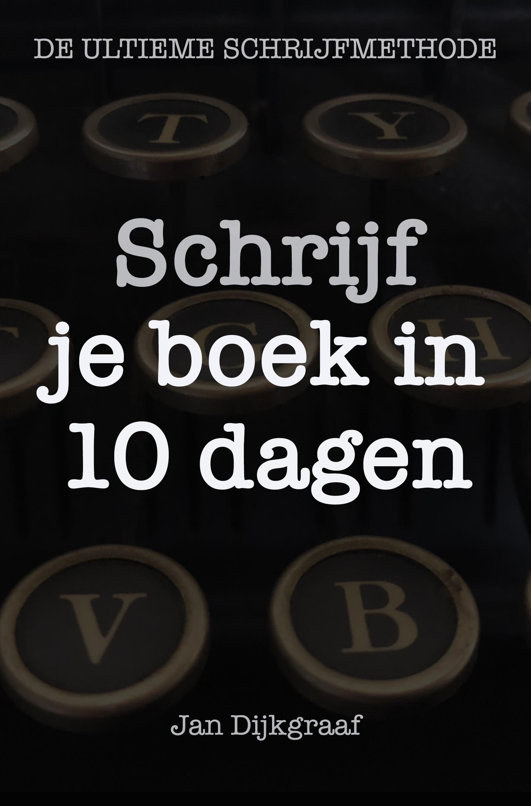 Werkboek 'Schrijf Je Boek In 10 Dagen'